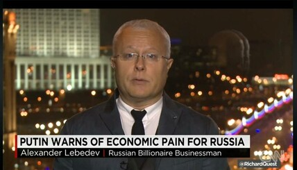 Lebedev: Isolating Russia not good idea